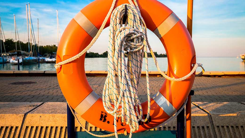 Featured image of an orange life preserver